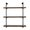 Greyleigh Kennard 3 Tier Industrial Pipe Wall Shelf & Reviews | Wayfair.ca