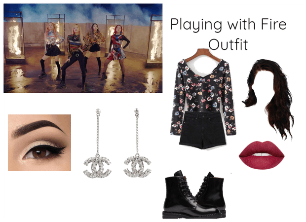 Blackpink Playing With Fire Inspired Look Outfit Shoplook