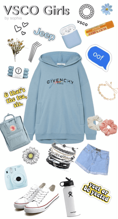 guide to a basic vsco girl Outfit