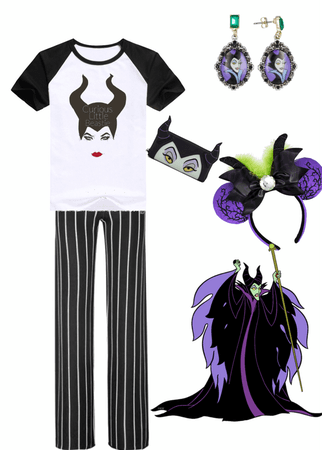 Disney Bound Maleficent Outfit Shoplook