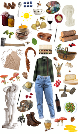 stardew valley harvey mood board Outfit | ShopLook