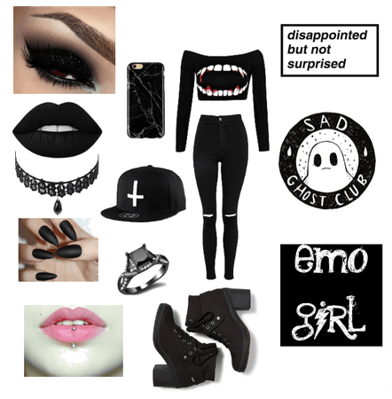 Emo📓🖤 Outfit