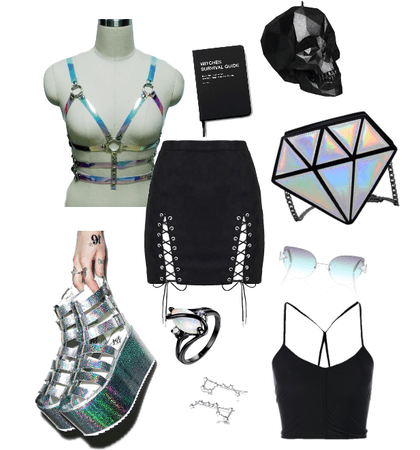 571712ef8 Holo Insanity Outfit   ShopLook