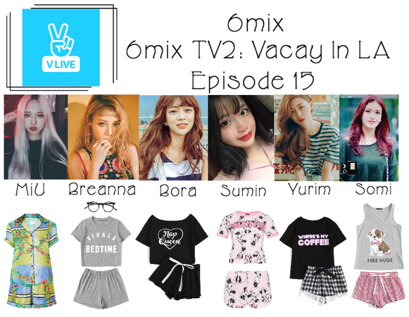 6mix》6mix TV2: Vacay In LA on V Live App Outfit | ShopLook