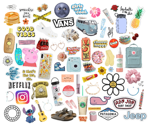 picture relating to Vsco Printable Stickers identified as vsco Outfit ShopLook
