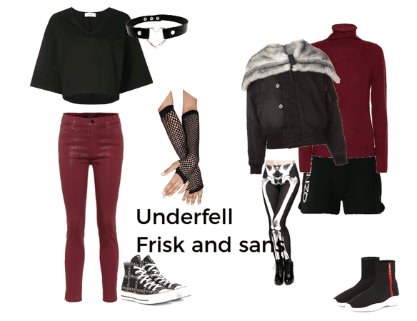 Underfell Sans Girl Ouftits Outfit | ShopLook