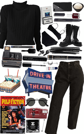 Pretentious Film Student Outfit Shoplook
