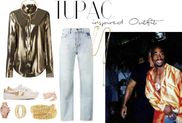 244b5cc25e3ba Tupac Shakur inspired Outfit  2 Outfit