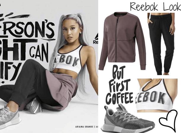 size 40 eba46 6a665 Ariana Grande - Reebok s Women s Empowerment Ad Campaign July 2018