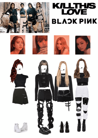 Blackpink Kill This Love Stage Outfit Outfit Shoplook
