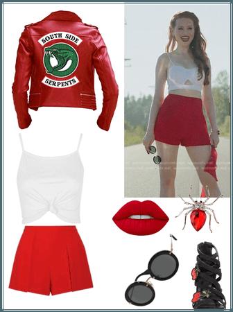Riverdale Cheryl Blossom Southside Serpents Leather Jacket
