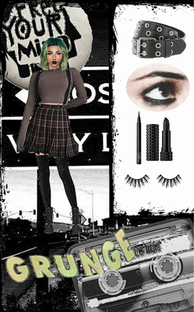 Requested Wallpaper Teal Grunge Aesthetic Outfit Shoplook
