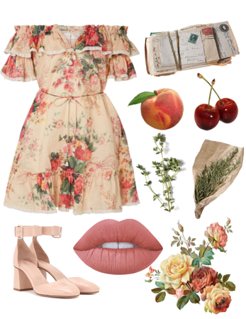 Cherry Lana Del Rey Outfit Shoplook