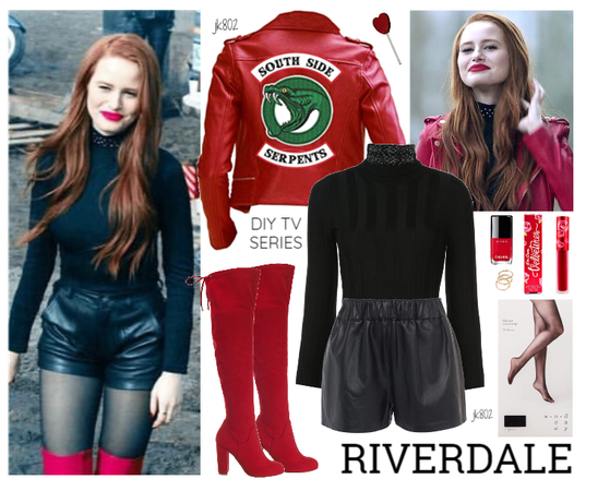 Riverdale Cheryl Blossom Southside Serpents Leather Jacket
