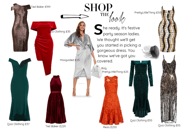 Red Velvet Wrap Asymmetrical Bodycon Dress - Quiz Clothing