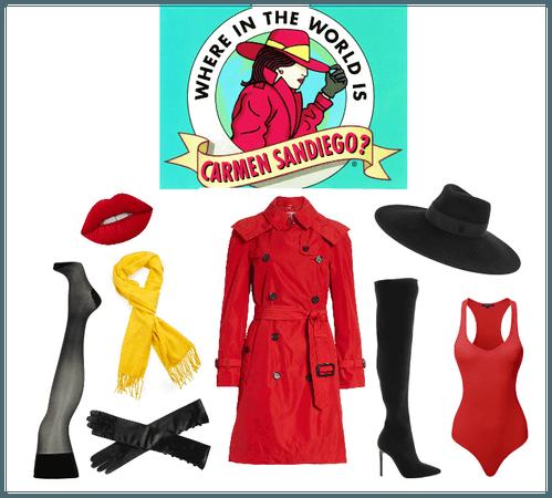 Carmen Sandiego Outfit Shoplook