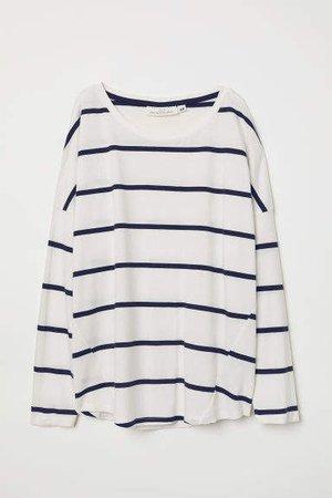 c452118d8 natasha zinko stripe sleeve cropped polo top | ShopLook