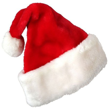 dd3687edfa4a2 DressLily.com  Photo Gallery - Christmas Party Santa Hat Velvet Red And  White Cap