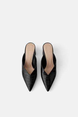 Zara España Zara Mujer Zapatos Mujer S7vq0x01