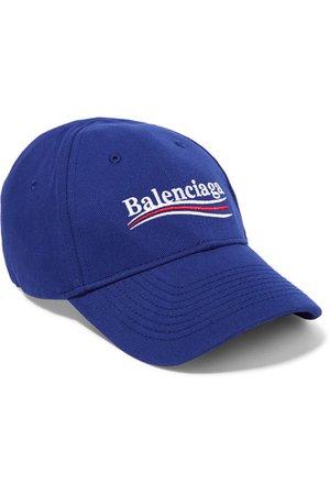 b8cfcb0a Balenciaga   Embroidered cotton-twill baseball cap   NET-A-PORTER.COM