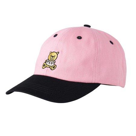 da354413a6e70 pink teddy fresh dad hat