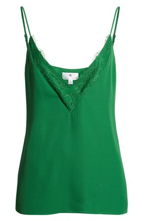 848d848947ab5 Halogen® Lace Trim Camisole (Regular & Petite)   Nordstrom   ShopLook