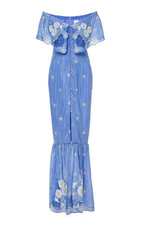 alice McCALL Alice McCall Clair De Lune Dress in Lemon Daisy