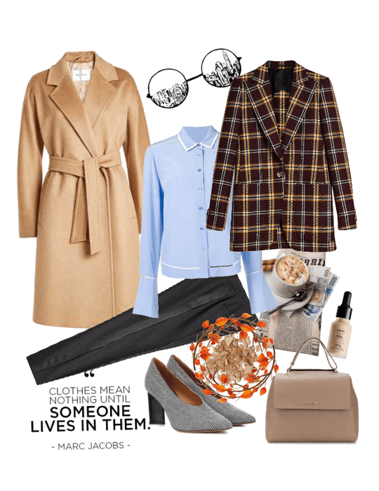 b42246e9741 Camel coat outfit ideas Outfit