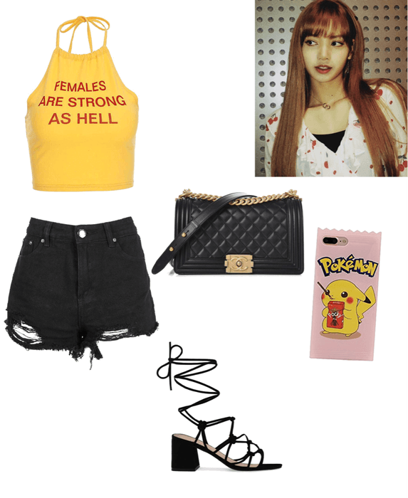 Blackpink Lisa Airportfashion Outfit Shoplook