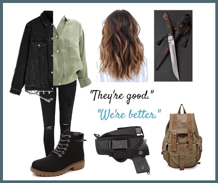 6897e05edaf6 Rhea s outfit - Season 4. 1