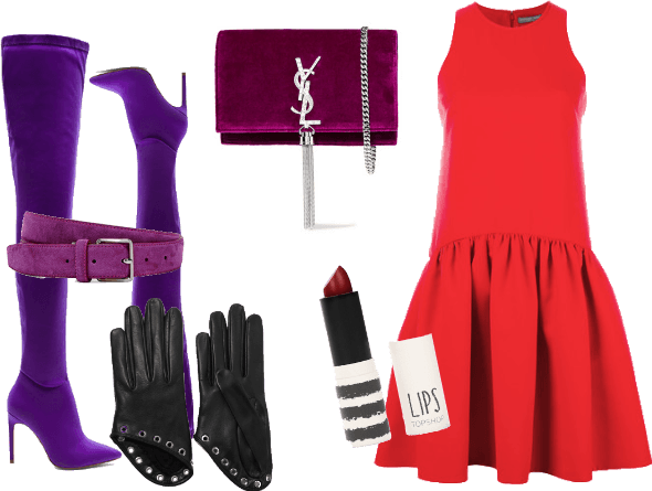 Jessica Rabbit (Who Framed Roger Rabbit) Disneybound Outfit | ShopLook