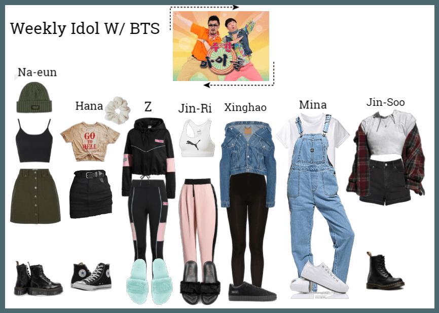 Weekly Idol W/ BTS Outfit | ShopLook
