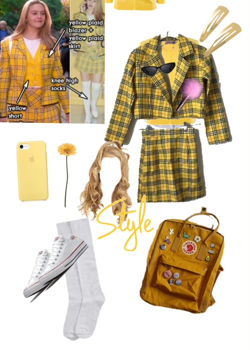 DIY Halloween costume challenge Cher from clueless Outfit