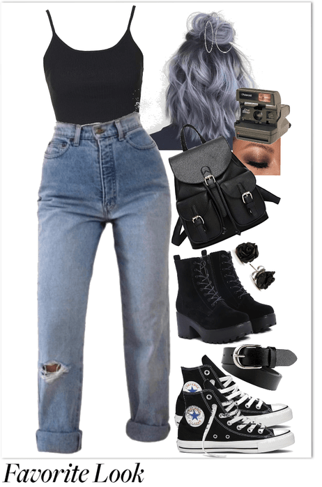 Grunge Meets Basic Outfit ShopLook  ShopLook
