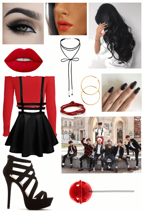 BTS War of Hormone Outfit Outfit | ShopLook