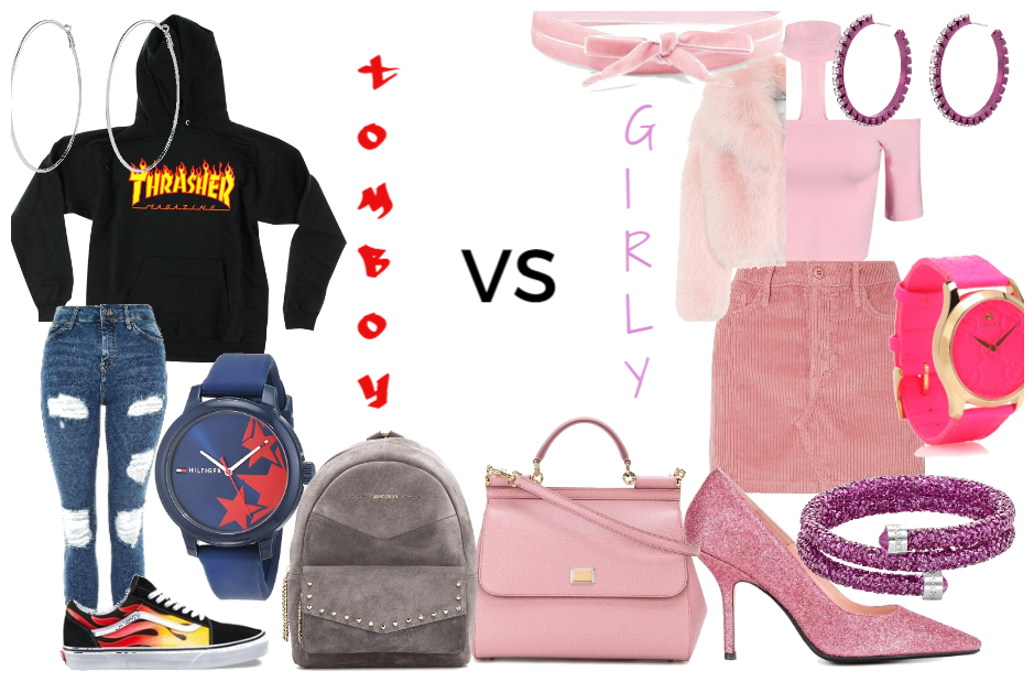 3bf425282bd8 Tomboy VS Girly-Girl outfit Outfit | ShopLook