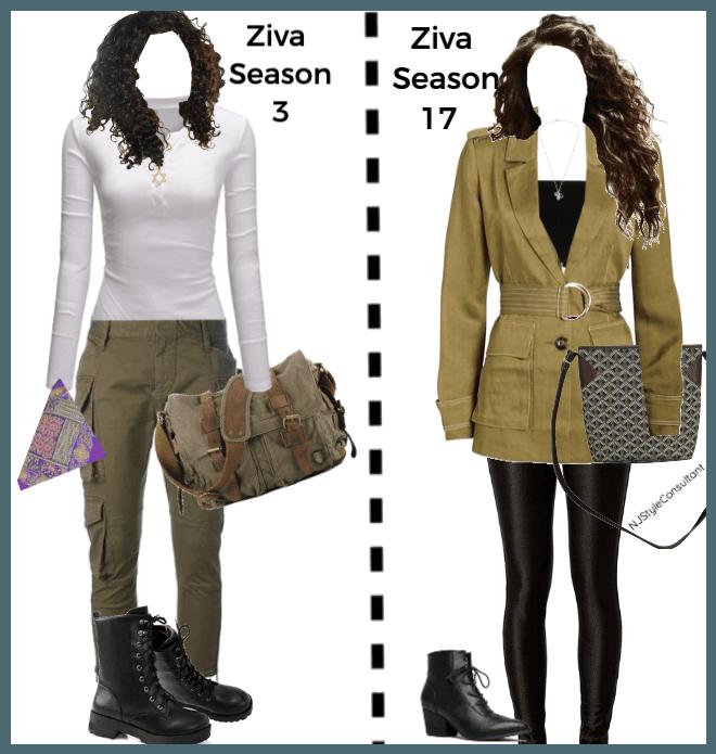 NCIS Ziva David season 3 vs season 17 Outfit