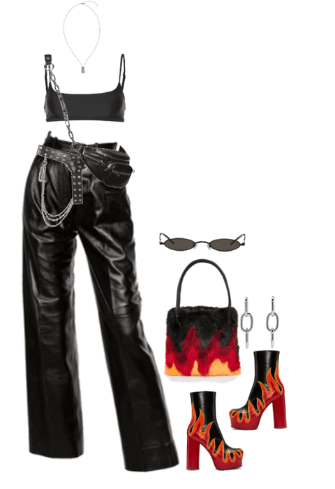 Playing With Fire Outfit Shoplook