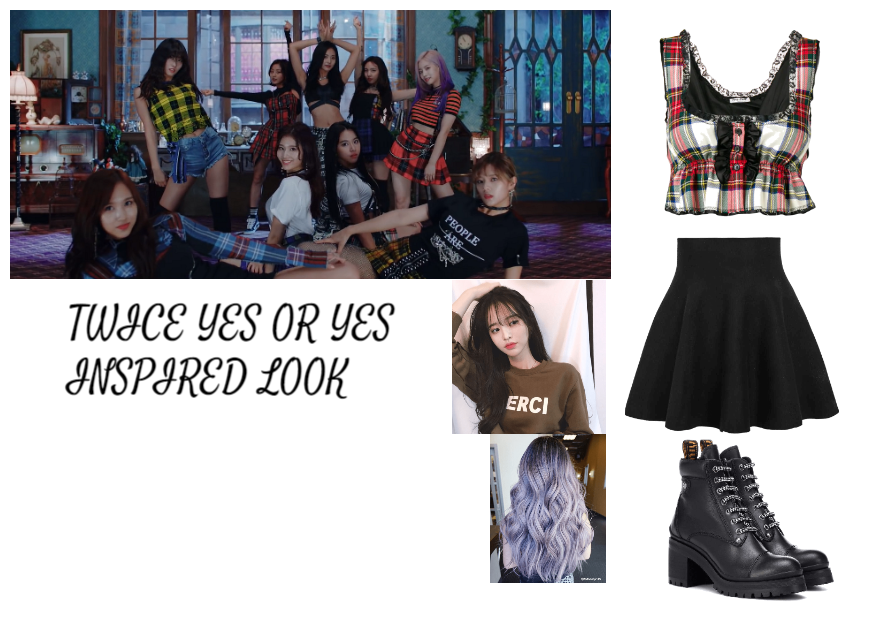 TWICE YES OR YES INSPIRED LOOK Outfit | ShopLook