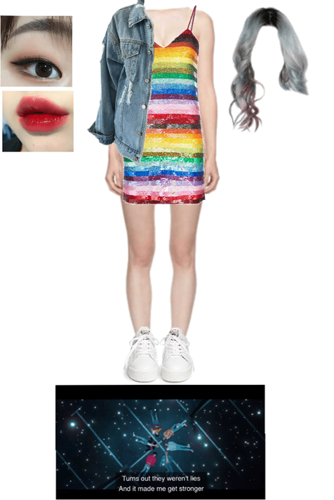 BTS Lights MV 8th member outfit #3 Outfit | ShopLook
