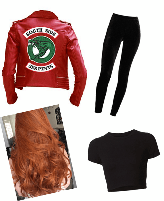 Riverdale Cheryl Blossom Outfit Shoplook
