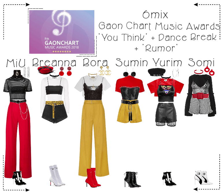 6mix》Gaon Chart Music Awards Outfit | ShopLook