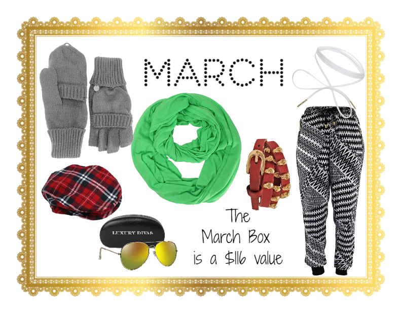 5be3c553db347 March Luxury Divas Accessory Box Outfit