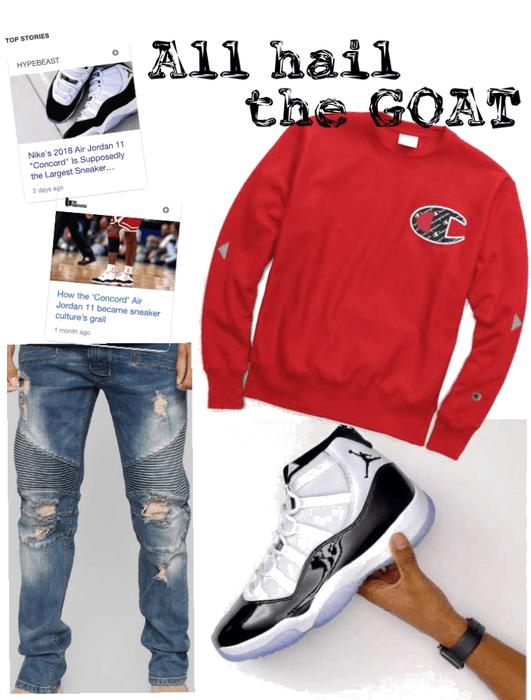 sale retailer 050ba 1ee57 Jordan concord 11's release Outfit   ShopLook