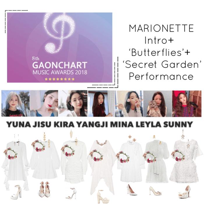 MARIONETTE}' Gaon Chart Awards 2019 Intro + 'Butterflies' + 'Secret