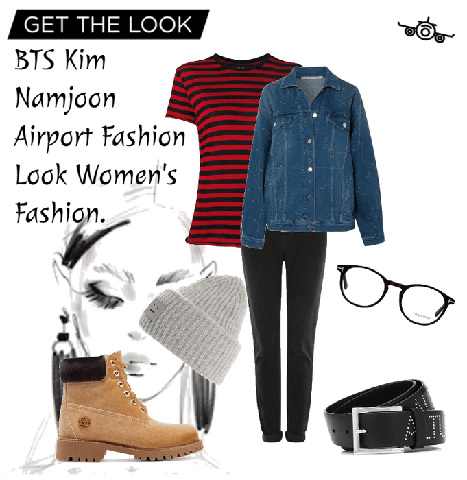 BTS Kim Namjoon Airport Fashion Outfit ShopLook  ShopLook