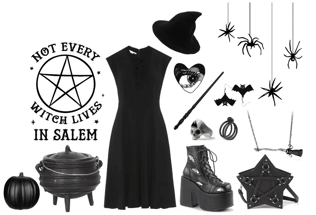 Halloween Diy Witch Outfit Shoplook