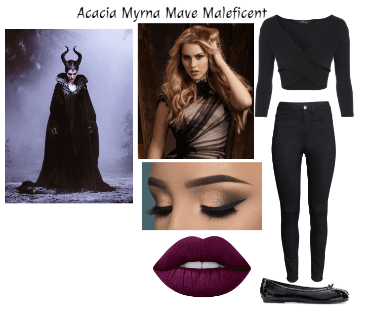 Descendants Oc Acacia Maleficent Outfit Shoplook