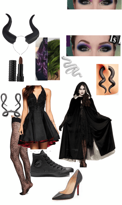 Mnsshp Maleficent Disneybound Outfit Shoplook