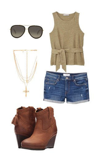 948c9a66265 Country Girl- Summer Look Outfit